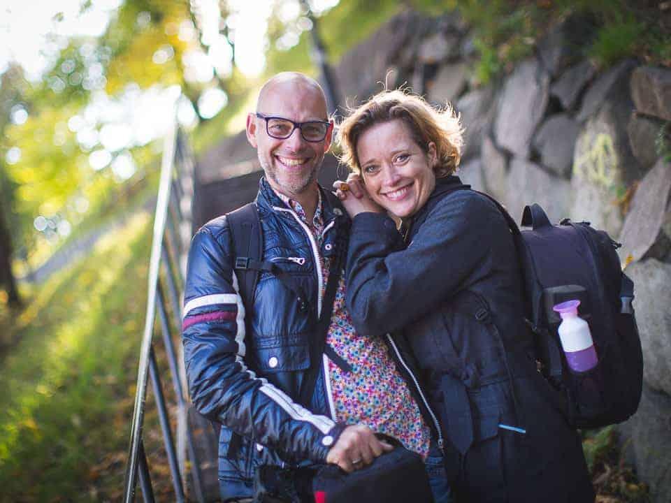Het team: Wim en Heleen