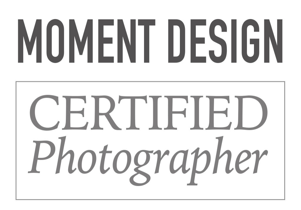 Moment Design Photographer Badge